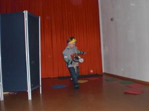 Tim bei der Weihnachtsvorführung im Kindergarten!!