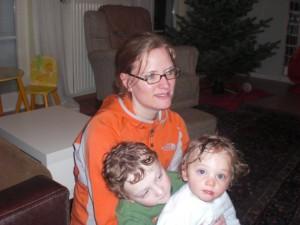 Tim, Oskar und ich, Dezember 2009